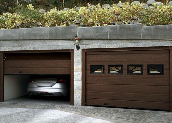montaggio portoni garage