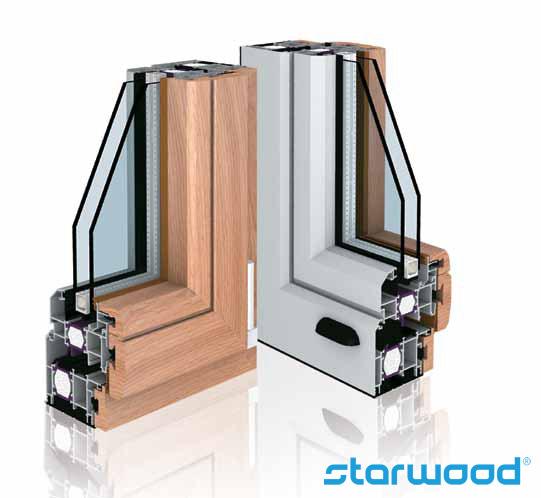 serramenti alluminio legno