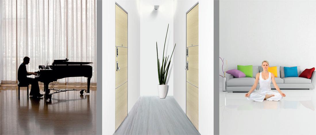 Porte blindate synergy dierre vendita e installazione - Guarnizione porta blindata ...