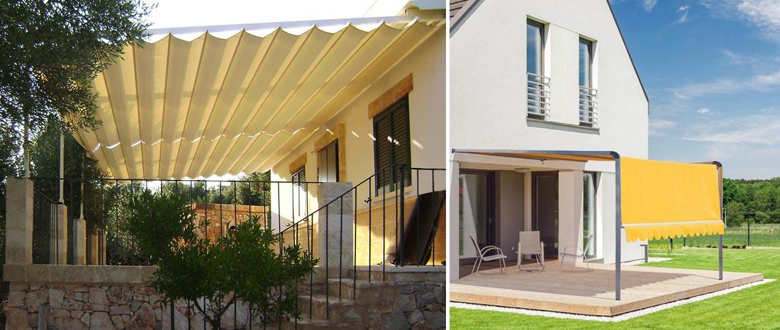 Tende da sole torino vendita e installazione varie tipologie for Tipi di abitazione