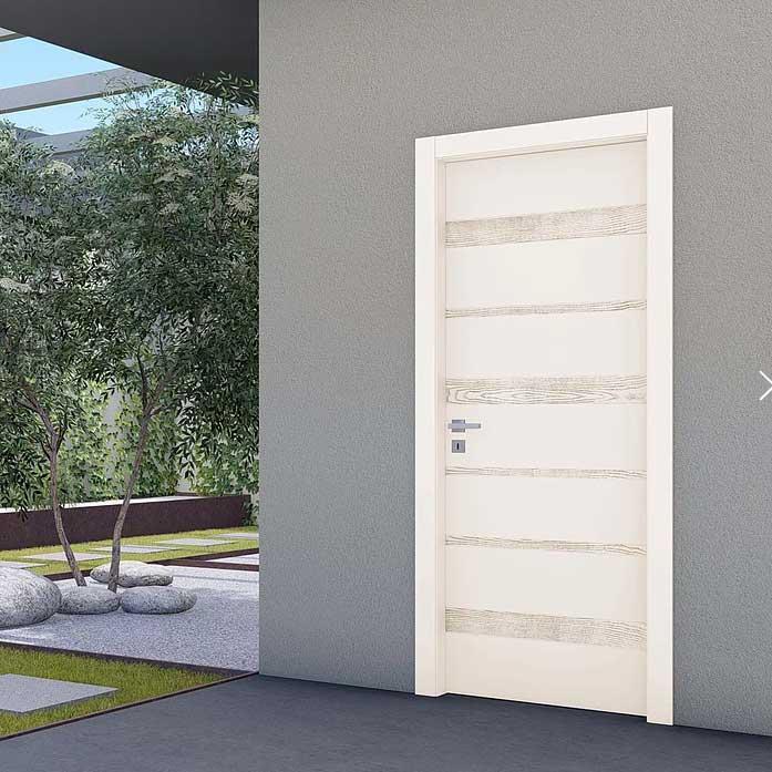 porta interno laccata